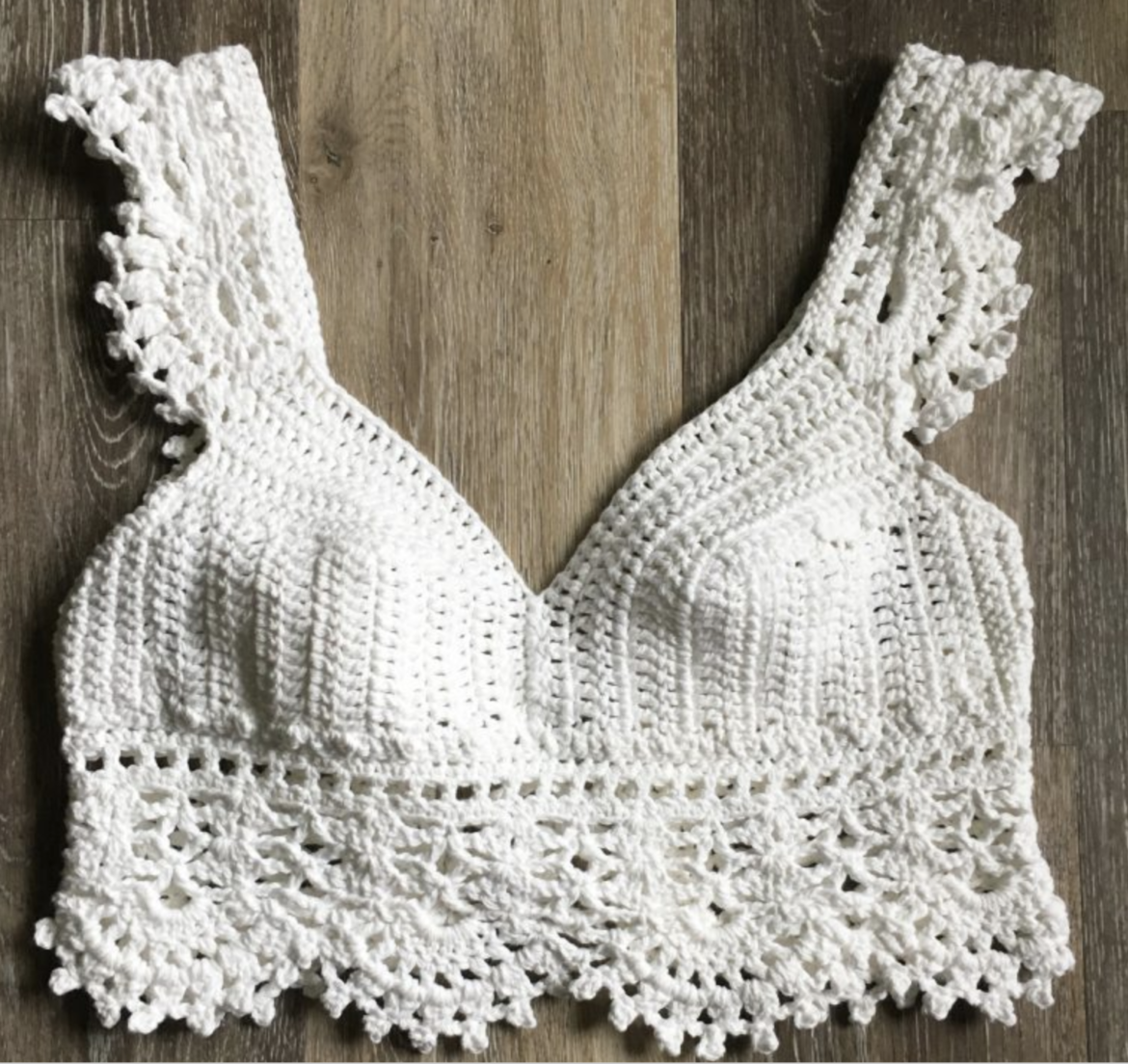Free Crop Top Crochet Pattern